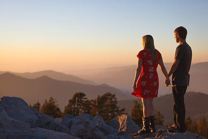 9 Camping Engagment Weekend | Bergreen Photography | Via MountainsideBride.com