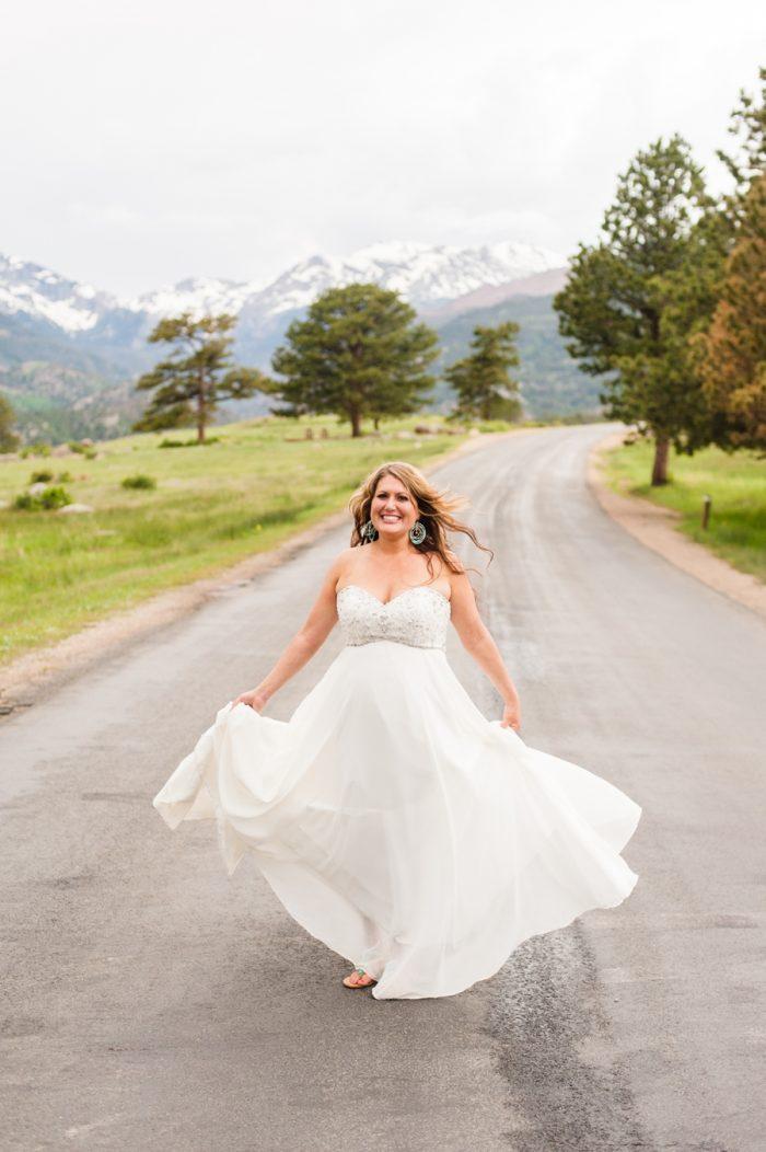 Rocky Mountain National Park Wedding Candice Benjamin Photography | Via MountainsideBride.com