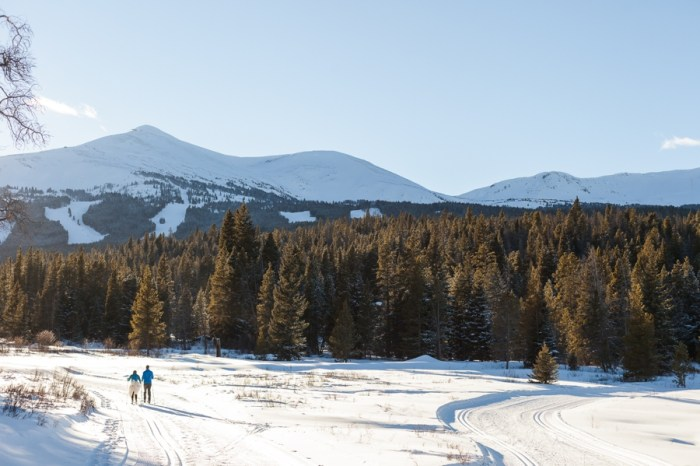 Ski Wedding Inspiration at Breckenridge Nordic Center