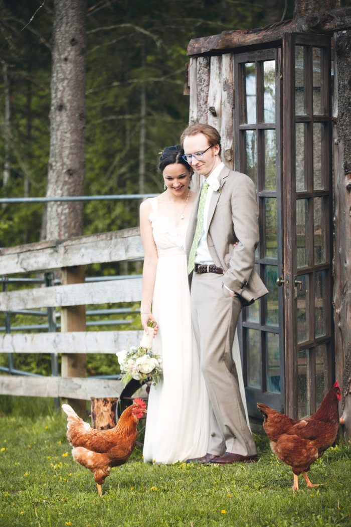 18 Farm Wedding Sandpoint Idaho Mountain Wedding Amy Galbraith Photography   Via MountainsideBride.com