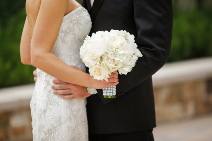 Bride And Groom | Elegant Park City Wedding St Regis Logan Walker Photography | Via MountainsideBride.com