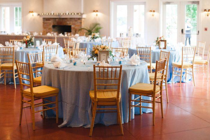 Reception Room | Mountain Wedding In Barboursville Virginia By JoPhoto | Via MountainsideBride.com
