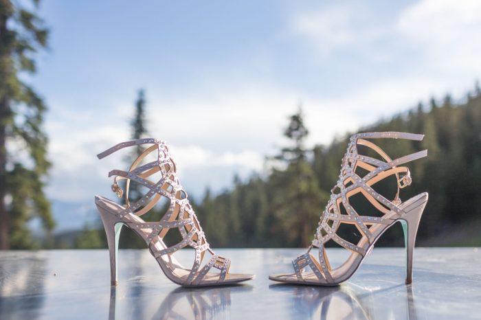 5 Shoes | Keystone Colorado Wedding Mathew Irving Photography | Via MountainsideBride.com