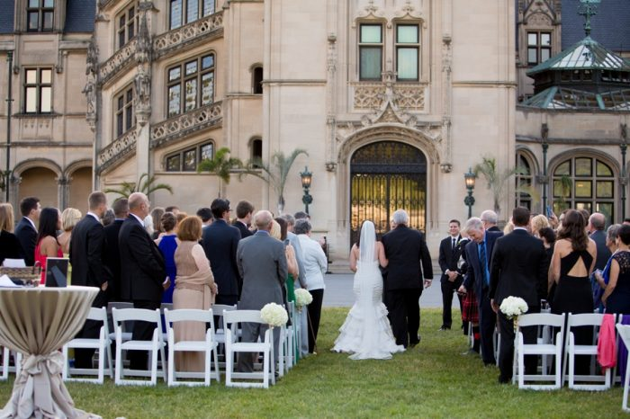 12 Asheville Event Co Wedding Aisle | Via MountainsideBride.com