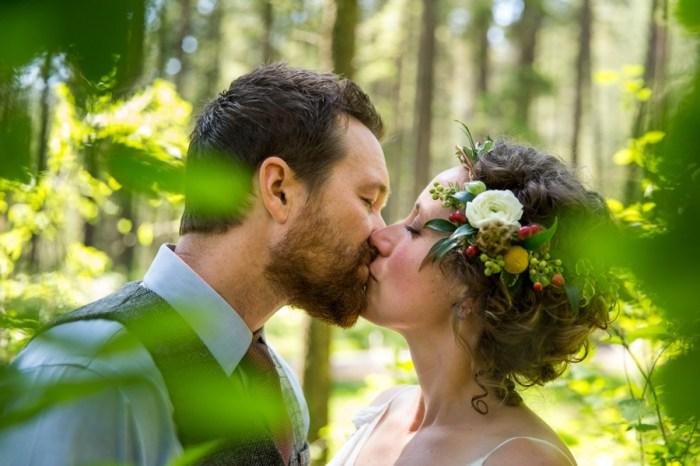 Woodsy Camp Wedding in Worley Idaho
