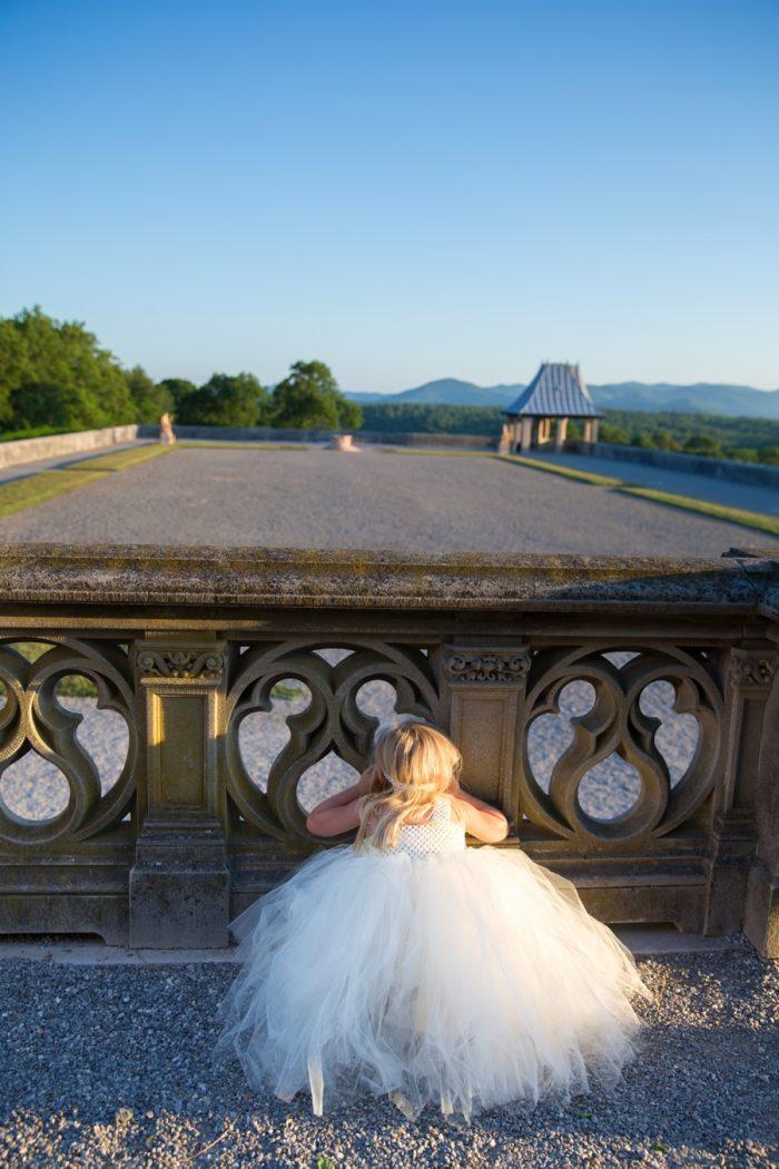 9 Asheville Event Co Flower Girl At Biltmore | Via MountainsideBride.com