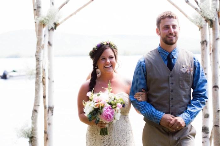 Laidback Lakeside Wedding at Beaver Cove, Maine