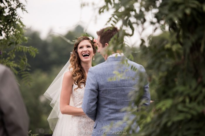 Sawyer Farm Ceremony 5 Cashiers NC Wedding | Parker J Pfister |via Mountainside Bride