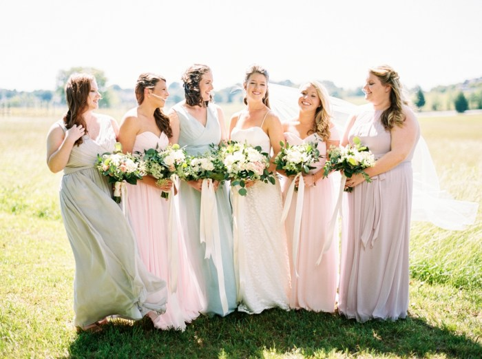 Rustic Elegant Wedding at Pleasant Hill Vineyards with Pink and White Details
