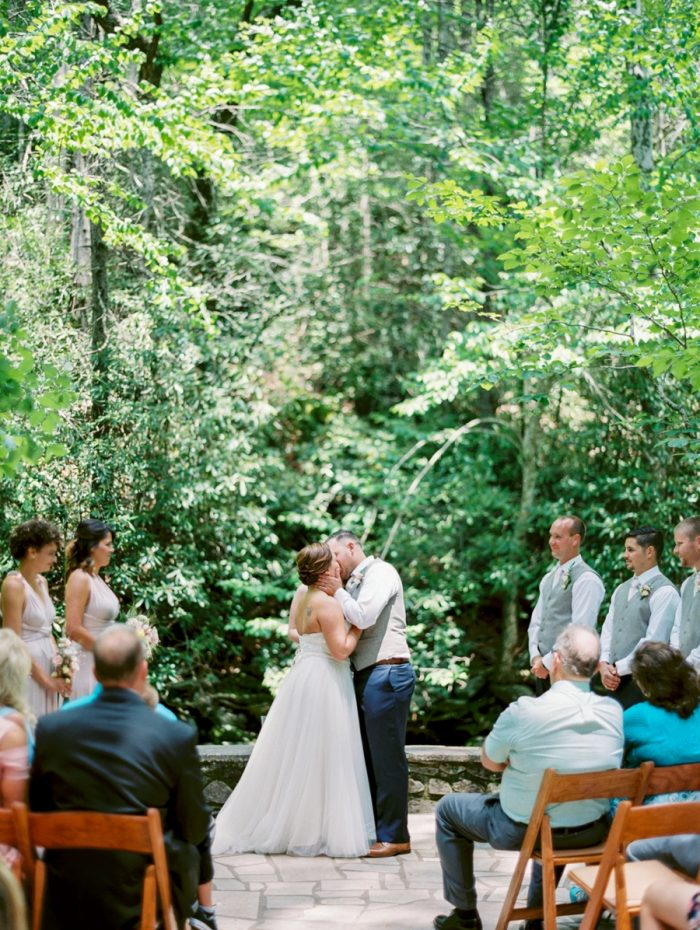 16 Spence Cabin Rennessee Wedding Johoho Via Mountainsidebride Com