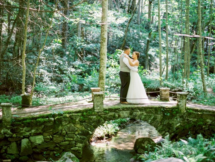 Enchanted Forest Wedding in the Smoky Mountains