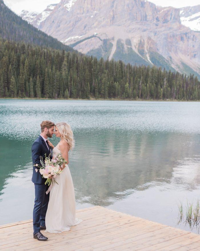 3a Emerald Lake Canadiian Rocky Mountain Styled Shoot