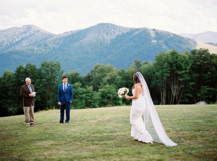 Summer Smoky Mountain Elopement at the Swag
