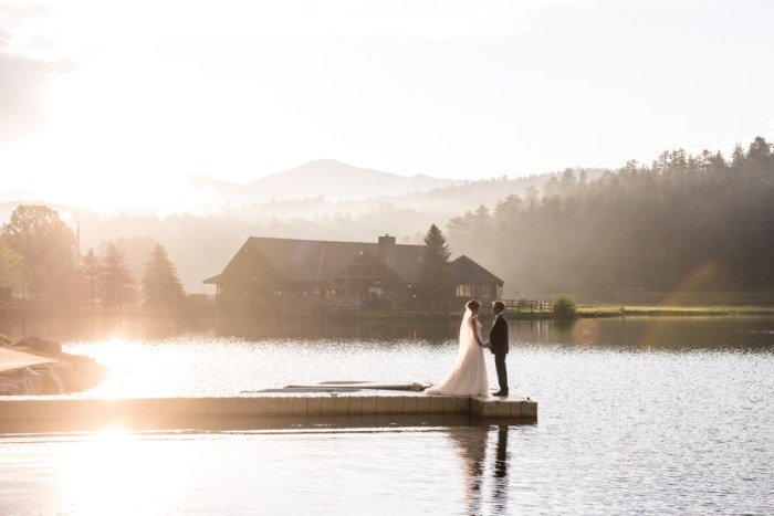Misty Mountain Wedding at Evergreen Lake House   Colorado