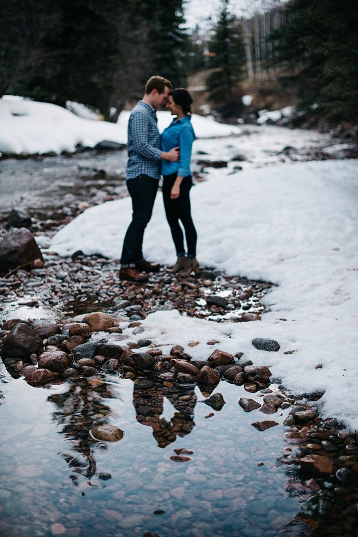 11 Vail Winter Engagement   Searching For The Light   Via MountainsideBride.com
