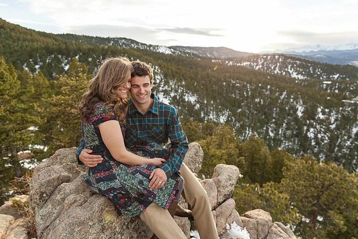 12 Boulder Colorado Winter Engagement Bergreen Photography Via Mountainsidebride Com