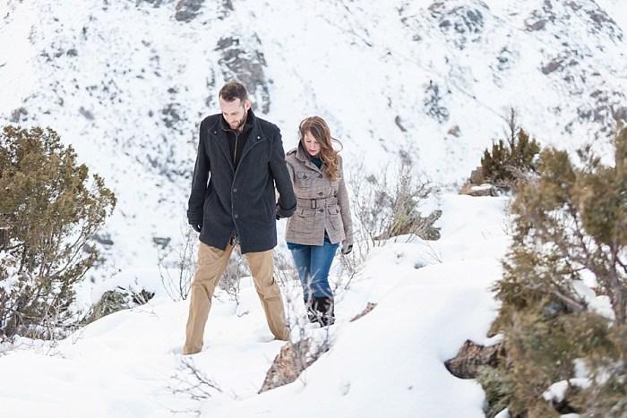 10 Train Engagement | Bergreen Photography | Via MountainsideBride.com