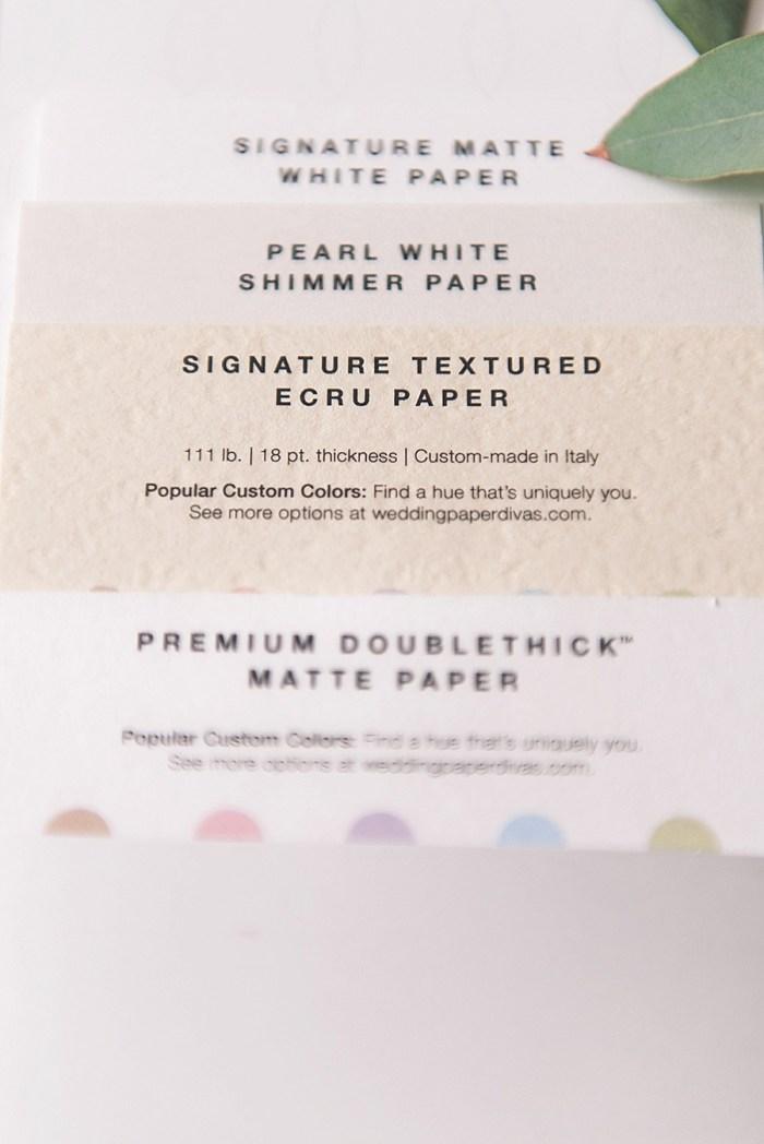 4 Wedding Paper Divas Sample Kits (10)
