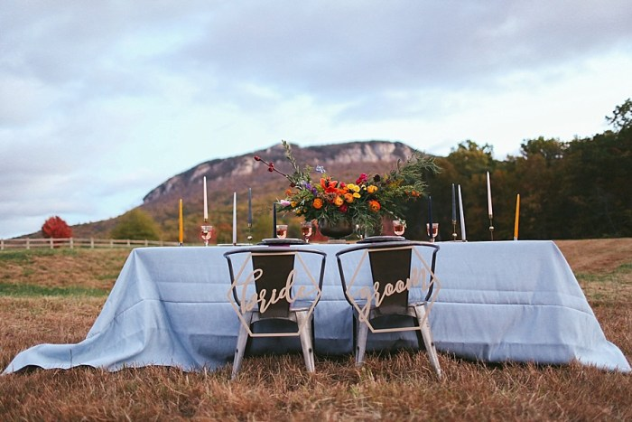 1 Blue Ridge Mountain Fol Inspration | Jordan Brannock Photography | Via MountainsideBride.com