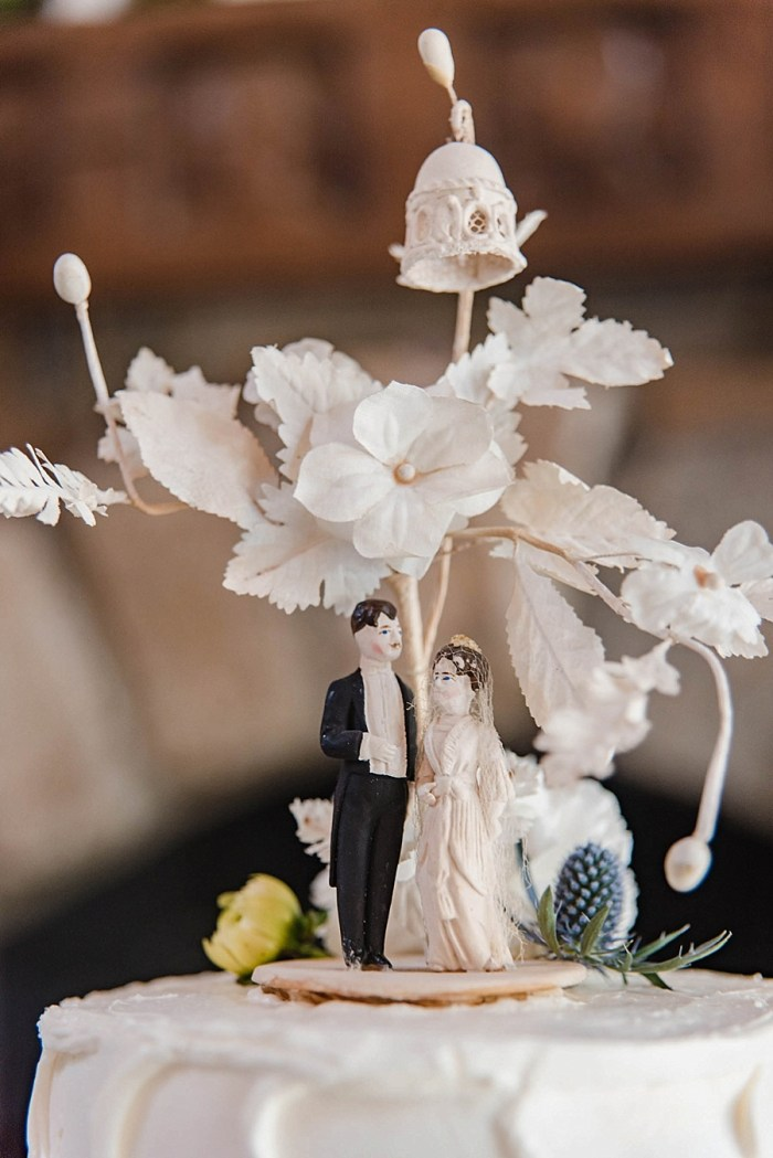 27 Cake Topper Sunshower Photography Via MountainsideBride.com