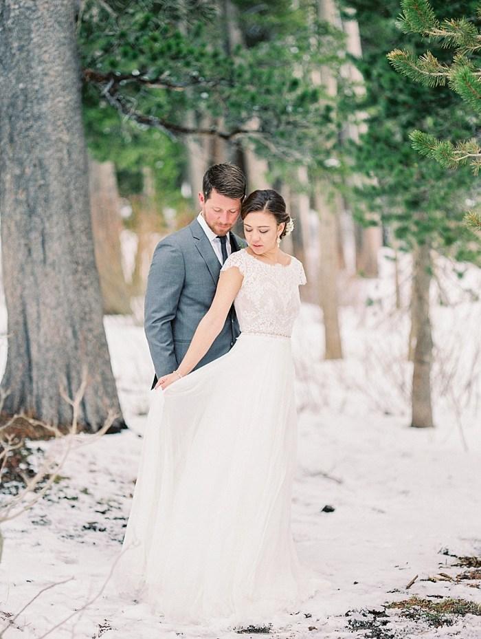Mammoth Lakes Winter Wedding Inspiration