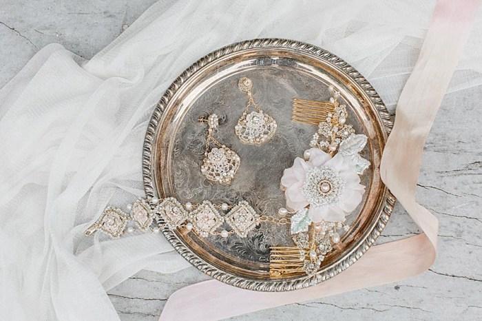6 Edera Jewelry 2017 Language Of Flowers Collection Damask Rose Set Peony Comb 1