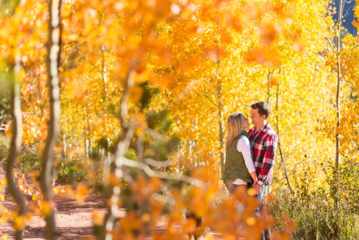 1 Fall Engagement In Vail Colorado Bergreen Photography Via MountainsideBride