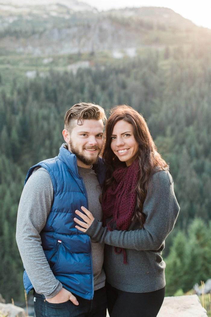10 Mount Rainier Engagement Breanna Elizabeth Photography Via MountainsideBride.com