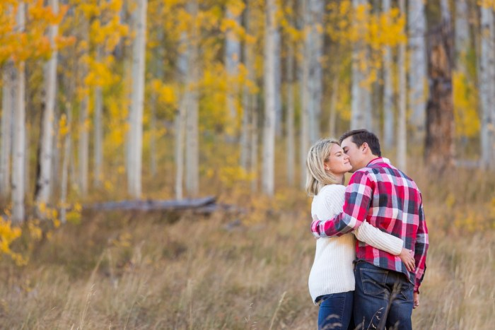 12 Fall Engagement In Vail Colorado Bergreen Photography Via MountainsideBride