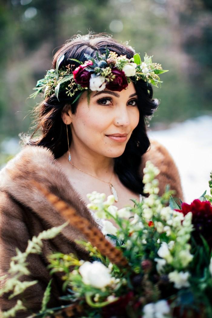 24 Big Bear Winter Wedding Inpiration Sarah Mack Photo Via MountainsideBride.com