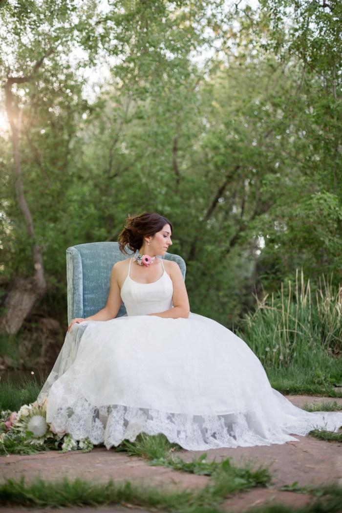 26 Kathyrn Elizabeth Bridal Style Sarah Roshan Via MountainsideBride.com