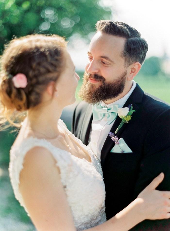 34 Couple Colorful Austrian Wedding Theresa Pewal Via MountainsideBride.com