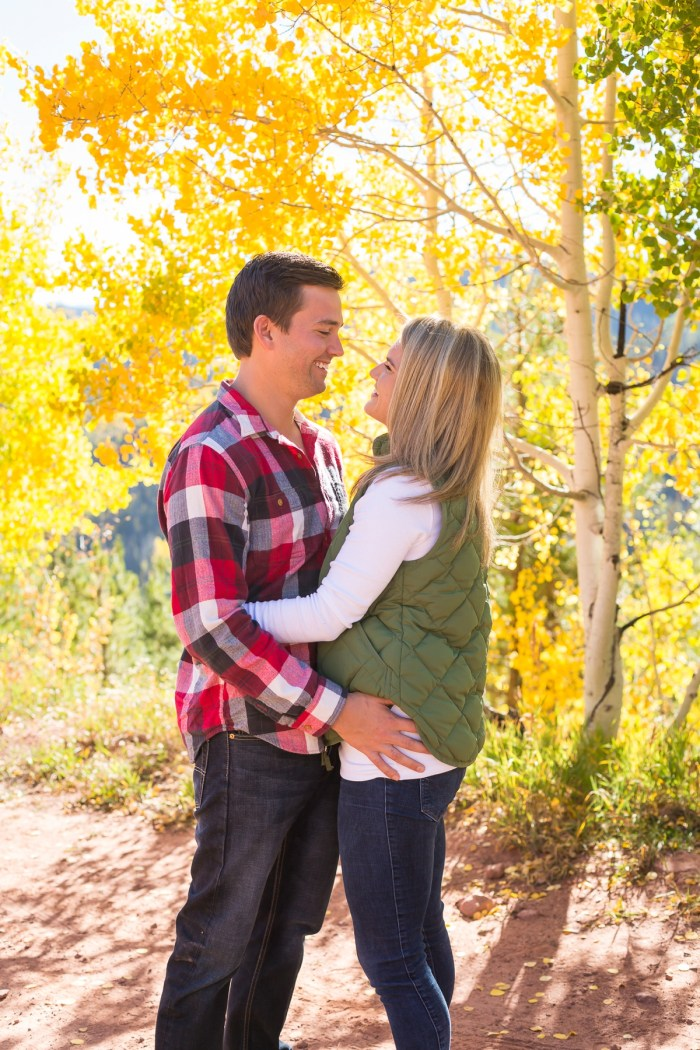 5 Fall Engagement In Vail Colorado Bergreen Photography Via MountainsideBride
