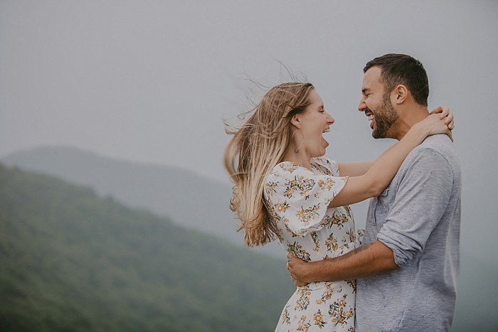 Rainy Day Appalachian Engagement