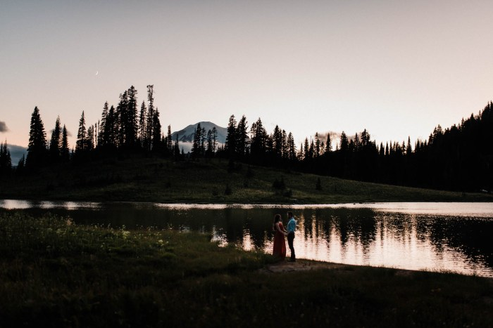 14 Mount Rainier Engagement Washington National Park The Foxes Photography Via MountainsideBride.com