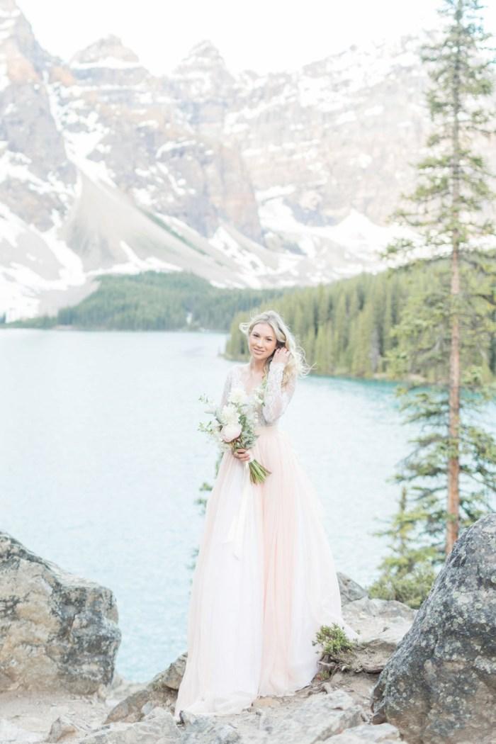2 Banff Anniversay Ashley Tyler Anniversary KIR2BEN Via MountainsideBride.com