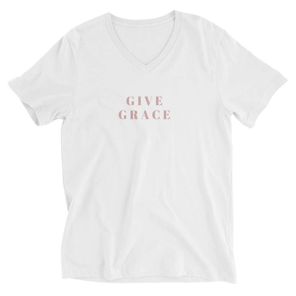 Give Grace V-Neck Shirt
