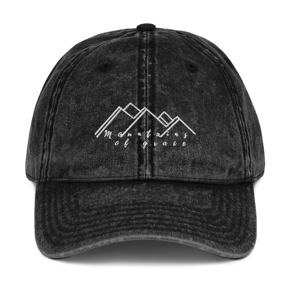 Mountains of Grace Embroidered Hat