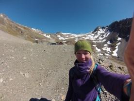 Hiking at the ski field
