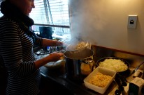 Let them boil for a couple of minutes and your dumplings are done!