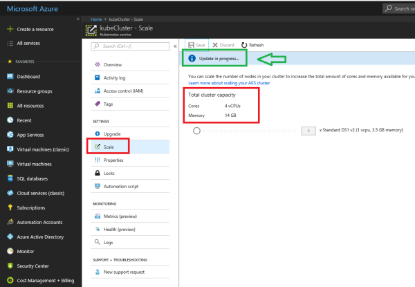 Scale and Upgrade your Azure Kubernetes Cluster #AKS # ...