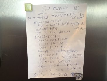 Family summer bucket list via Ashley Stevens at Mountains Unmoved
