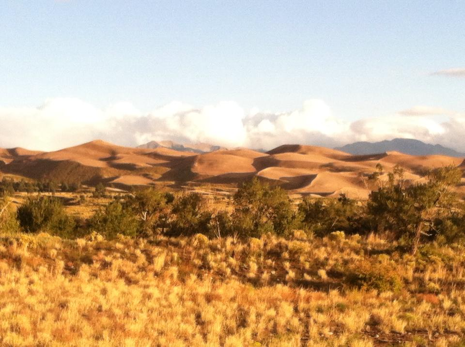 The Great Sand Dunes National Park: Go there for a day of playing on North America's tallest sand dunes or plan a multi-day backpacking adventure.