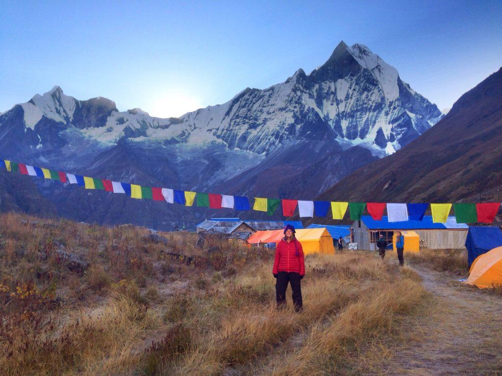 At Annapurna Base Camp