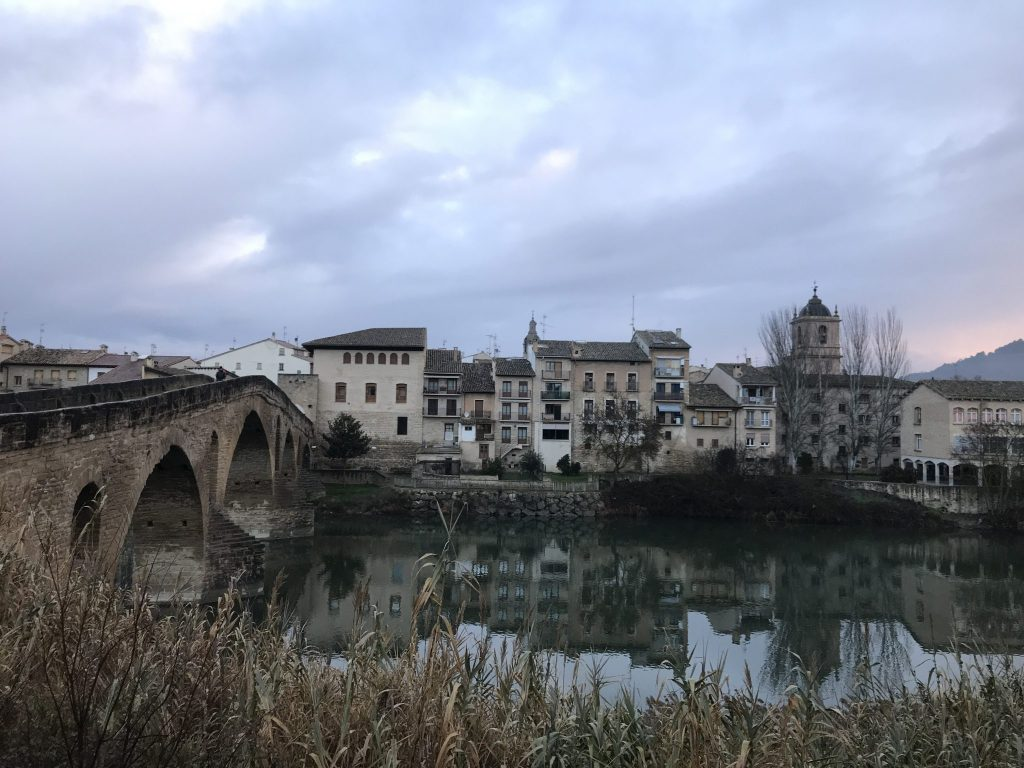 The first 150 miles of my journey of a winter Camino de Santiago.