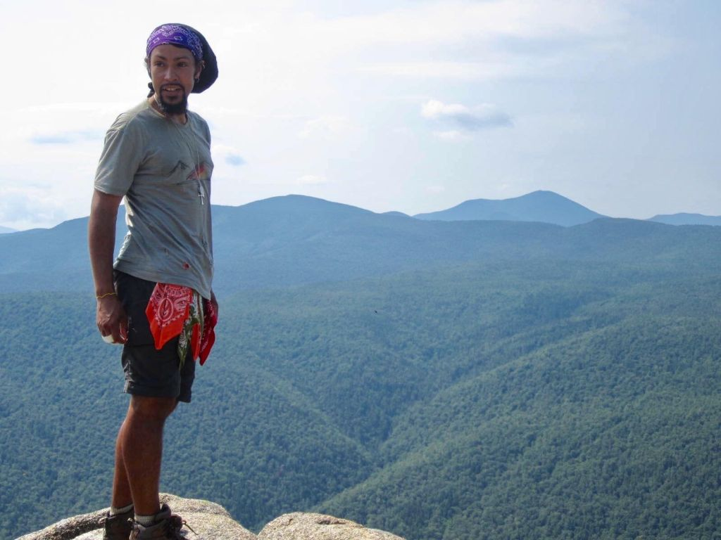 Derick Lugo on the Appalachian Trail