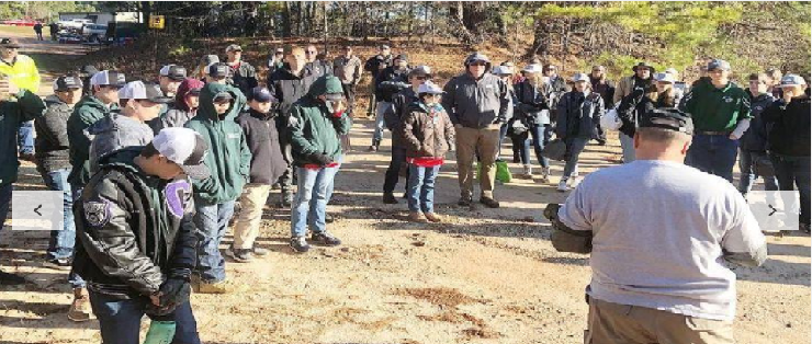 SASP holds state match at Griffin,GA Gun Club