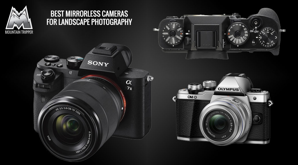 best mirrorless cameras landscape photography