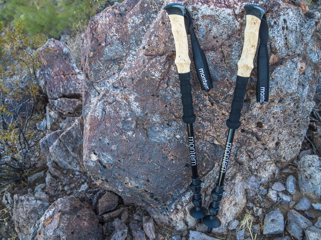 monter trekking poles field test