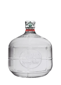 Mountain Valley Spring Water Glass Bottle